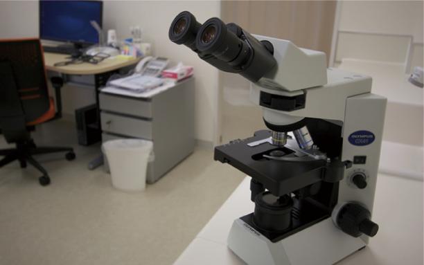 顕微鏡 真菌、虫体の検出に威力を発揮する顕微鏡です。